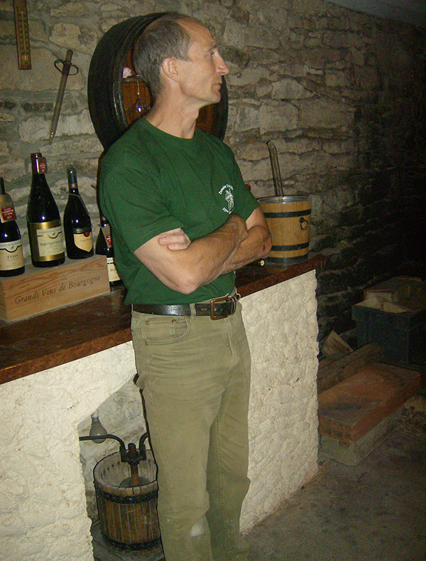vigneron Alain-Jeanniard-Morey-Saint-Denis